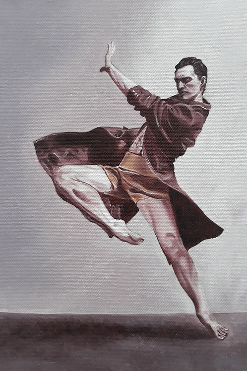 Principal Dancer - Skip! A4 print