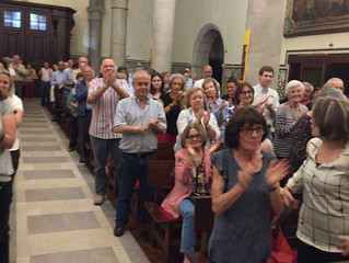 VOCE Men's Choir receives standing ovations in Portugal concerts