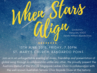 VOCO Singapore Ladies Choir Australia Debut