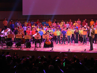 "2016 SYF Celebrations Combined Chorus performs ""Medley of Dreams"""