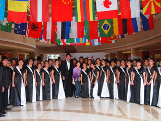 Temasek Chorale bags 3 prizes at the Xinghai International Choir Championships