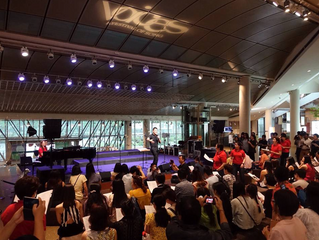 VOCO Singapore Ladies Choir at the 2015 VOICES FESTIVAL OF SONG