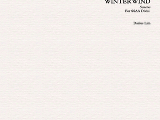 World Premiere of Winter Wind by Volare Treble Voices