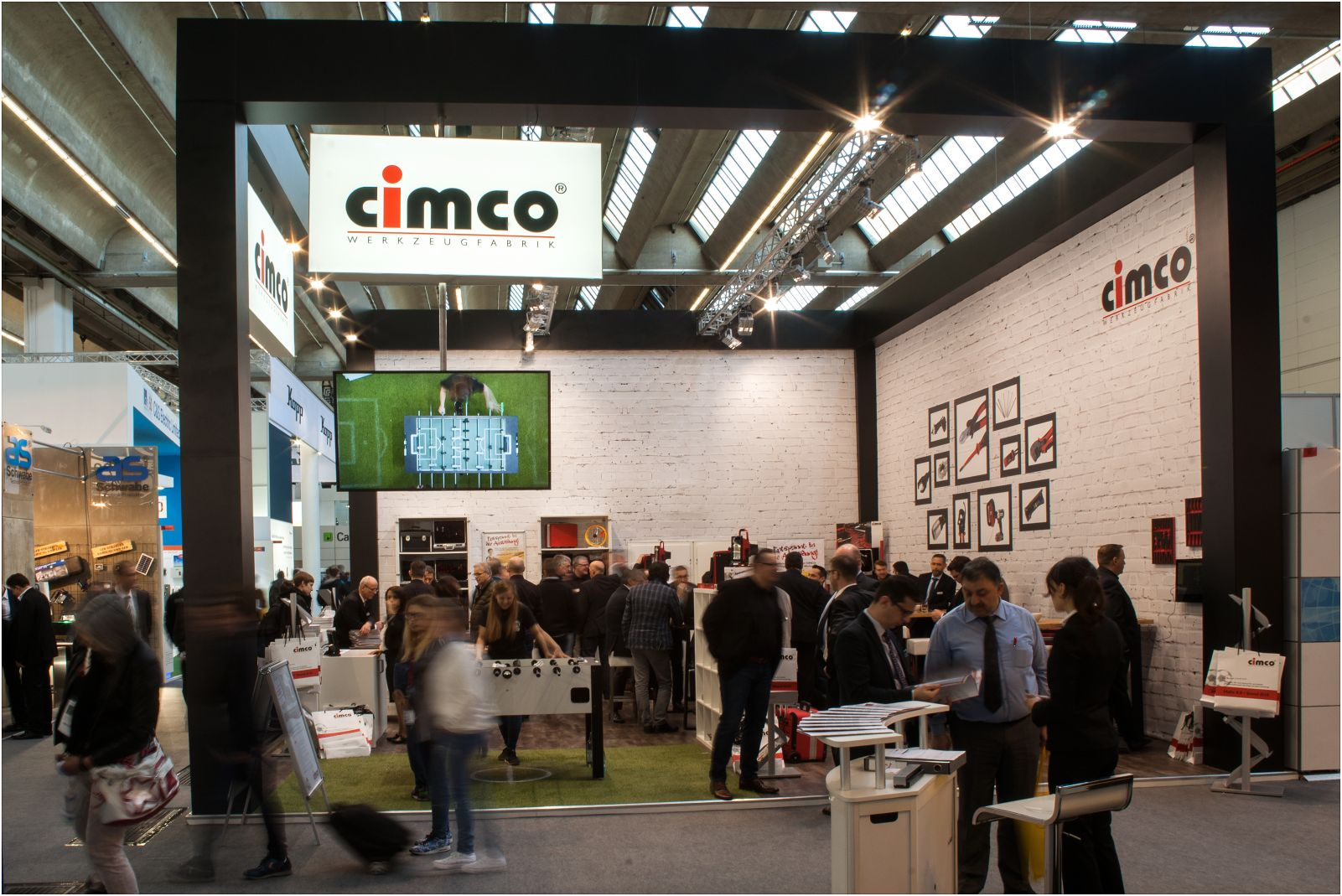 Cimco @ Light & Building 2016 in Fra