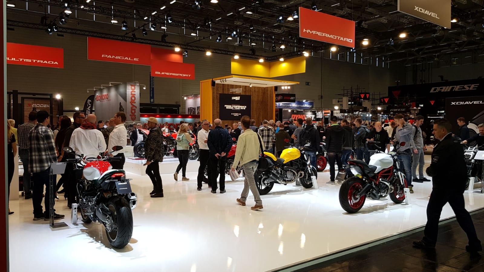 Ducati @ Intermot 2018