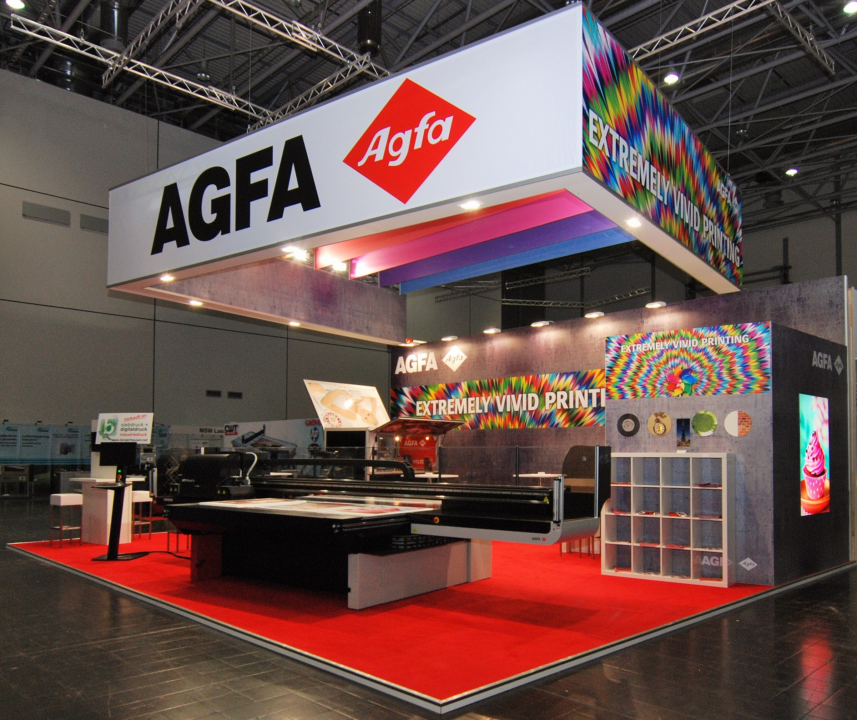 Agfa @ Viscom 2015 in Düsseldorf