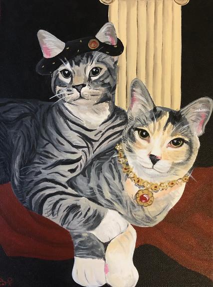 Renaissance Cats, 2020