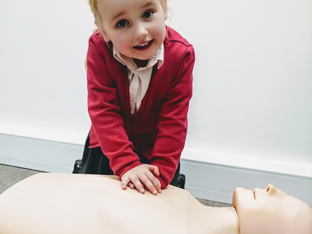 Can you be too young to learn first aid? By Hannah at the Resus Rangers