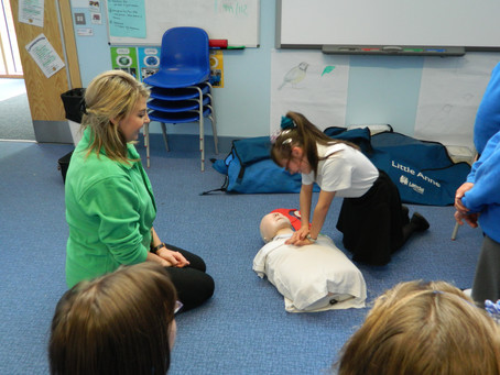 First Aid to be compulsory on the National Curriculum in September