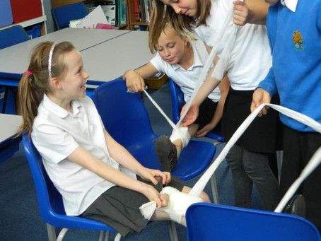 Why teach primary school children first aid?