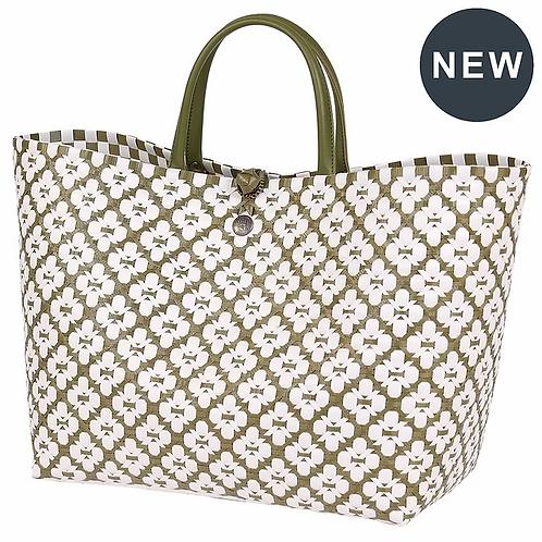 Motif bag Olive/white