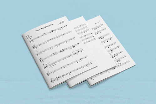 Guitar Ensemble Music Package