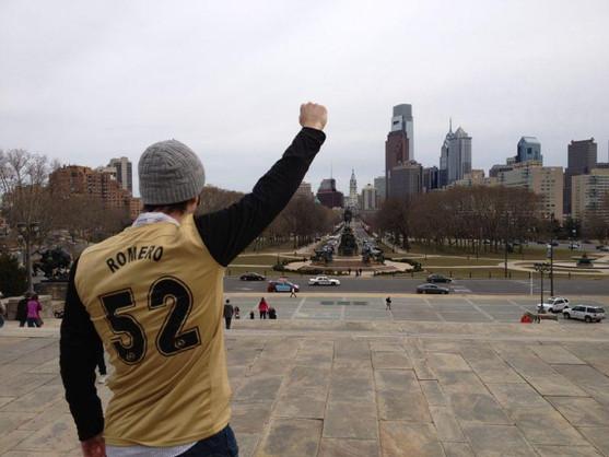 Mario in Philadelphia