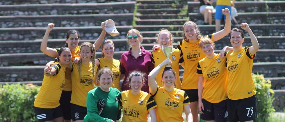 Women's team in Prague