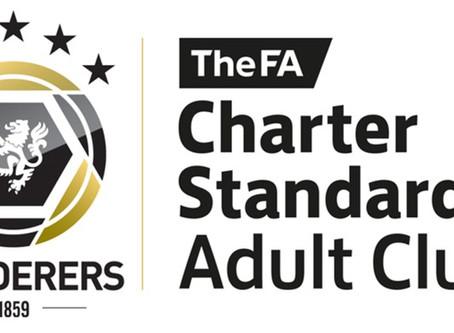 Charter Standard Status Achieved Again