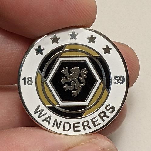 Wanderers Pin Badge