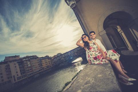 Radhica&Sunand in Tuscany