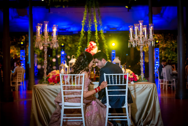 Radhica&Sunand's wedding in Reception in