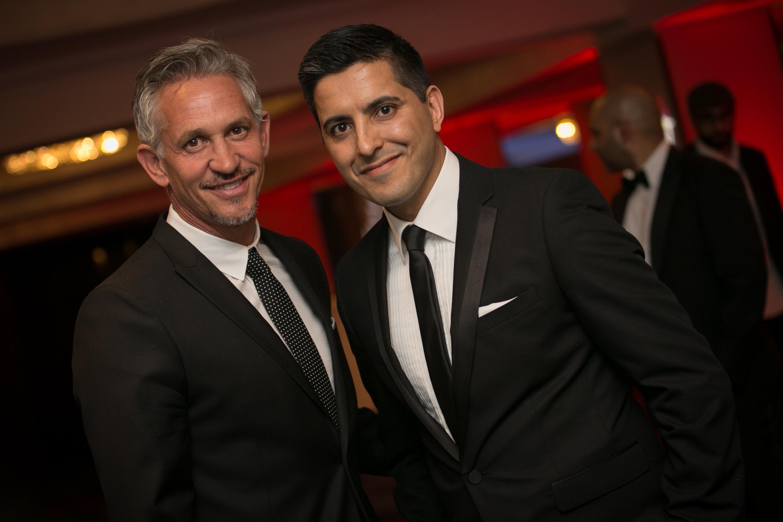 Gary Lineker & Manish Bhasin