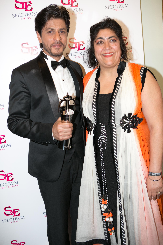 shah Rukh Khan & Gurinder Chadha