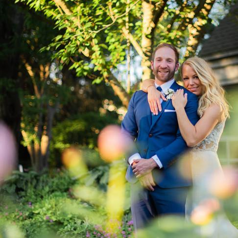 Backyard Wedding | Caroline & Toby | Andover, MA