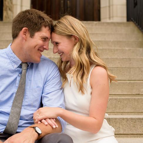 Engagement | Maura & Dan | Boston College
