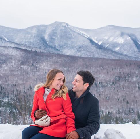 Engagement | Jillian & Jon | White Mountains, NH