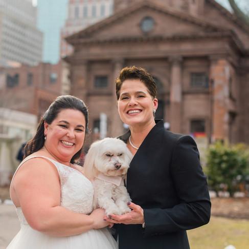 Wedding | Liz & Dawn | Arlington Street Church, Boston