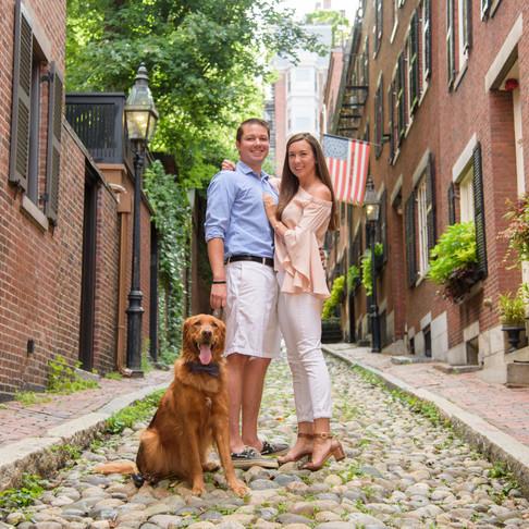 Engagement | Jillian & Chris | Beacon Hill, Boston