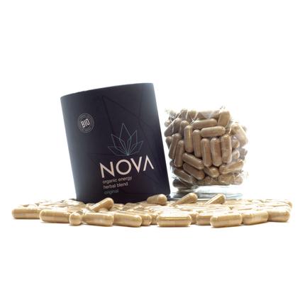 Organic Herbal Supplement Vitality