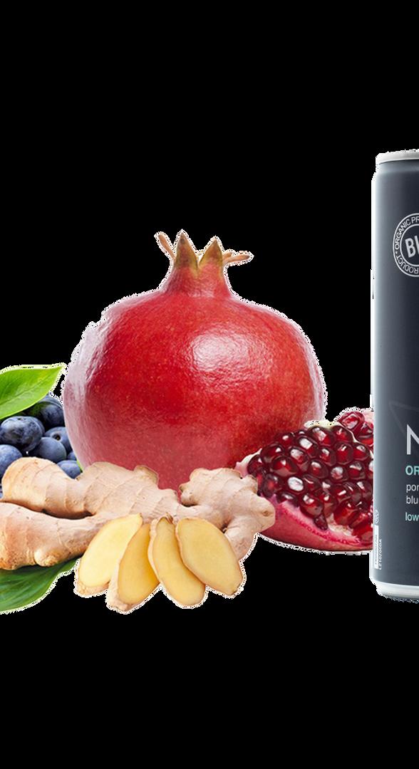 Pomegranate, Blueberry & Ginger