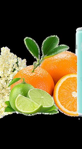 Orange, Elderflower & Lime