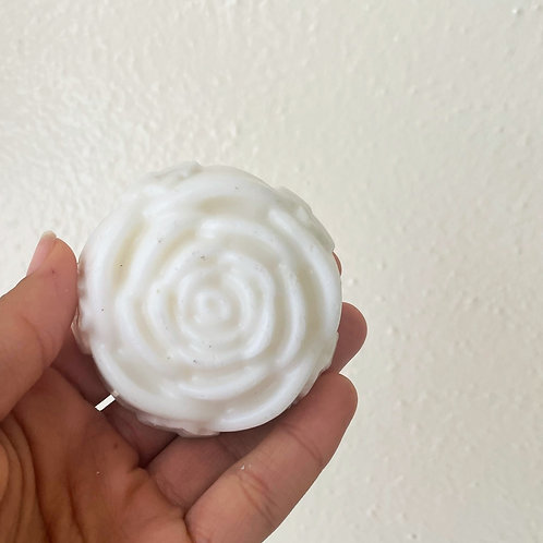 Shea Butter Peppermint Soap (Rose Shaped)