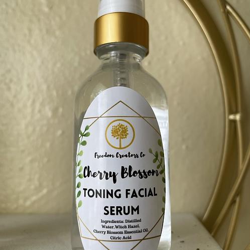 Cherry Blossom Toning Facial Serum