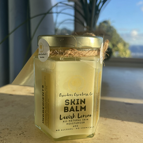 Lavish Lemon Skin Balm