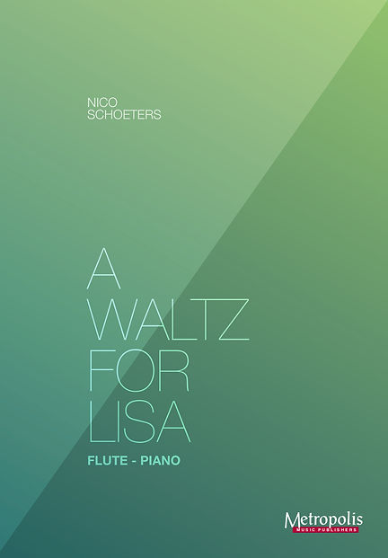 A Waltz for Lisa - Flute-Piano rechterbl