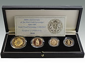 500th Anniversary of the First Gold Sovereign sold by Suffolk auction house Lockdales