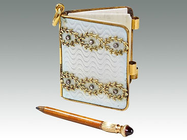 Fabergé diamond aide memoire sold by Suffolk auction house Lockdales