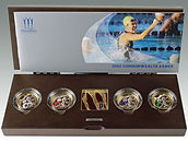 Manchester Commonwealth Games 2002 Royal Mint Two Pounds sold by Lockdales auction house in Suffolk