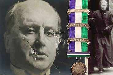 Suffragette WSPU Hunger Strike medal sold in Suffolk auction house Lockdales