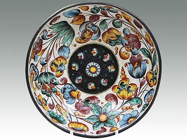 An antique Russian enamelled silver bowl sold in Lockdales Suffolk auction