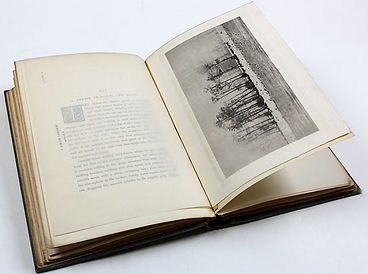 A rare example of the book 'Marsh Leaves' sold by Suffolk auctioneers Lockdales