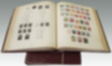 New Imperial Postage Stamp albums sold in a stamp auction by Suffolk auctioneers Lockdales