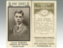 Cigarette cards from Trick's Drug Stores, War Series, sold at Suffolk auction house Lockdales