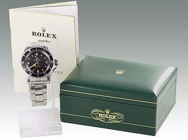 A Rolex Oyster Perpetual Submariner sold at Suffolk auctioneers Lockdales
