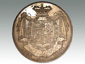 William IV proof crown 1834 sold at Suffolk auction house Lockdales
