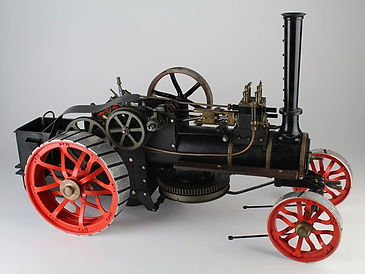 Fowler scratch built live steam traction engine sold by Lockdales auction house in Suffolk