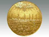 German State Hamburg gold 10 Ducats 1675 sold in Lockdales auction house in Suffolk