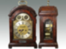 Fine George III repeating table clock sold by Suffolk auctioneers Lockdales