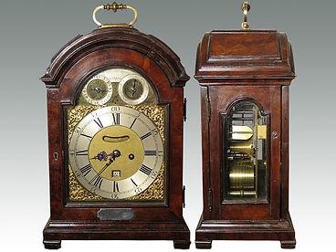 Fine George III repeating table clock sold by Suffolk auctioneers Lockdales